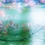 幻想的な池